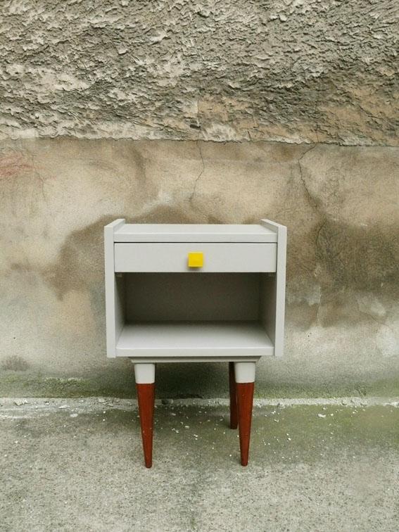 chevet vintage ann es 60 adopte un meuble. Black Bedroom Furniture Sets. Home Design Ideas