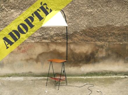 lampe-porte-revue-tablette-années-50-abat-jour-vintage-2