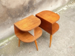 table-de-chevet-vintage-pieds-compas-fifties-50's-nuit