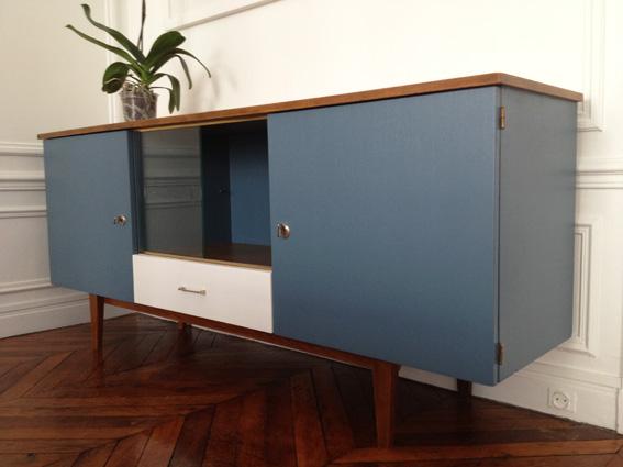 Enfilade 50 s revisit e adopte un meuble for Meubles des annees 50