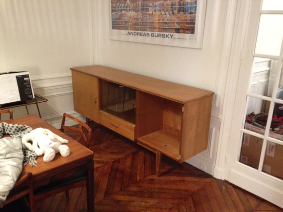 Enfilade 50 s revisit e adopte un meuble for Meuble annee 50
