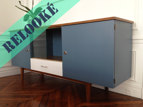 Enfilade 50 s revisit e adopte un meuble for Meuble enfilade scandinave