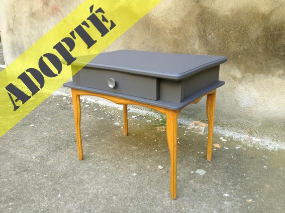 table de chevet ma t adopte un meuble. Black Bedroom Furniture Sets. Home Design Ideas