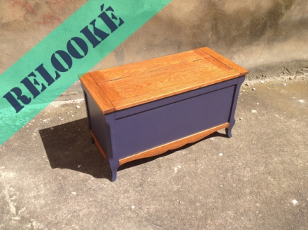 coffre-bois-ancien-rénové-bleu