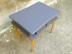 table-de-chevet-vintage-bois-gris-rénové