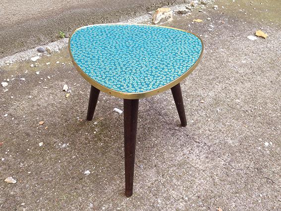 table tripode annes 50 vintage